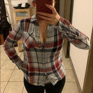 Small button up long sleeve shirt